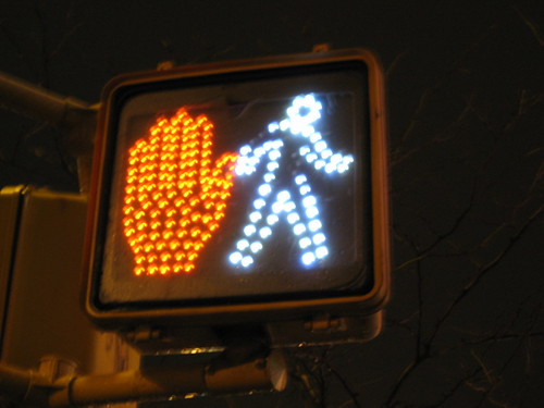 Confused traffic signal