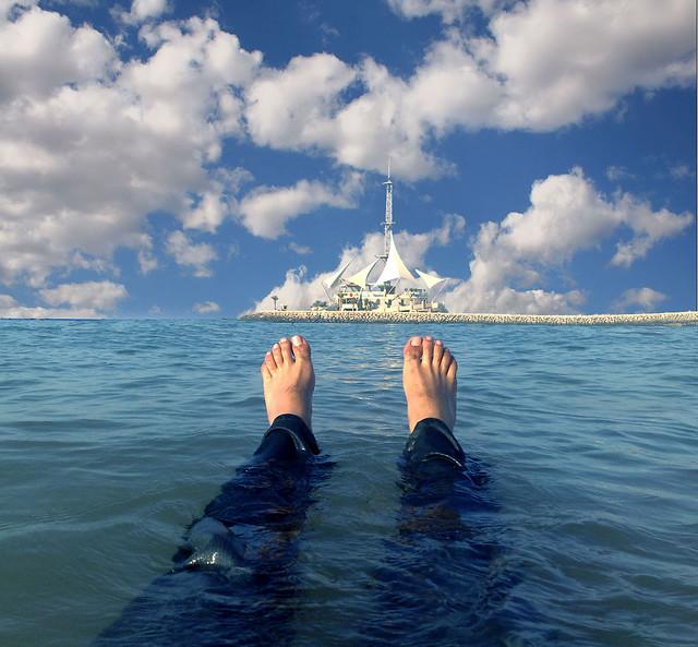 Marina Waves, My Foot