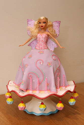 Download Barbie Cake Images : Image Barbie Fairy Cake Download