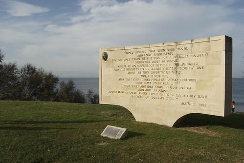 Galipoli monument