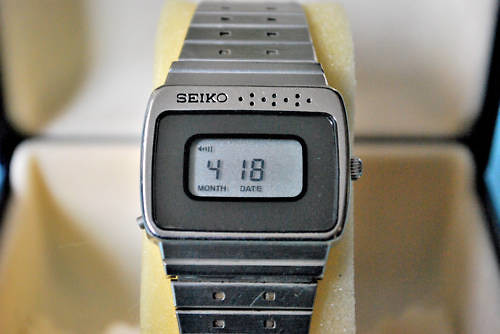 Seiko lcd watch 1980