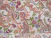 floral paisleys - peach, green, purple