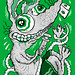 Green Sticker 05 by elfelix