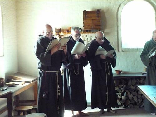 gregorian singing