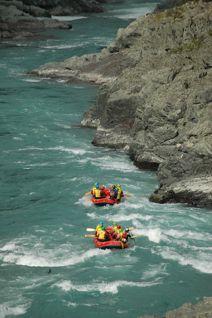 Rafting the Rangitata