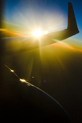 sunset sun airplane lenstagged iso400 flight wing jet engine 500mm canonef50mmf14usm canoneos1dmarkii eos1dmarkii lens:maker=canon lens:focal_min=50 lens:focal_max=50 flickr:user=morganm7777777 aperturepriorityae flickr:user=89016311n00