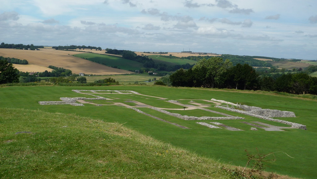 Old Sarum - Cathedral foundation