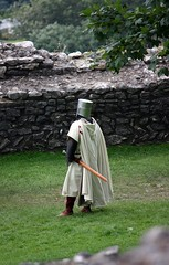 Knight at Peveril Castle 3