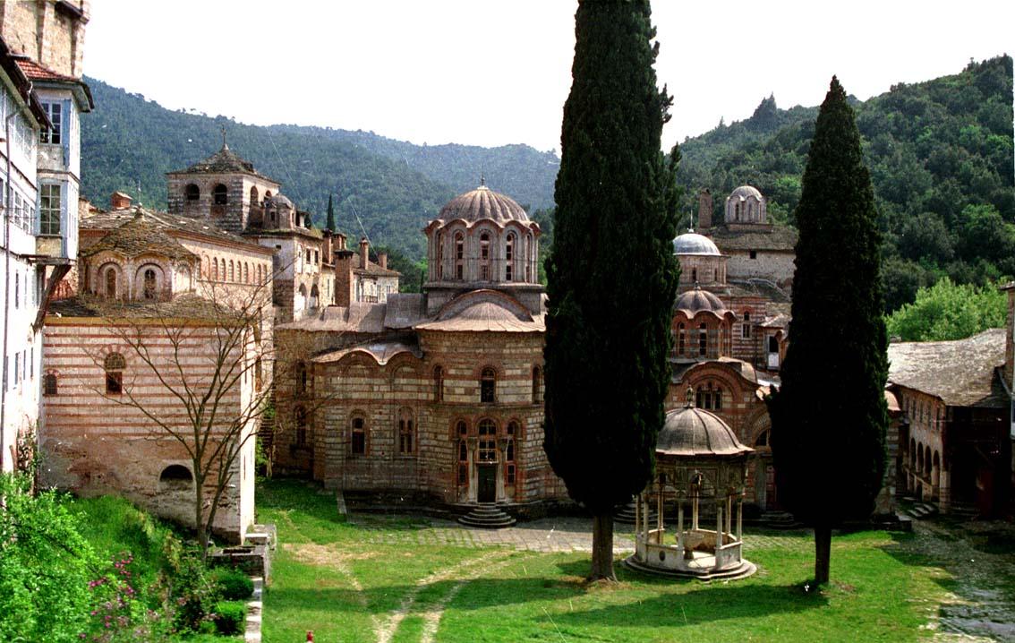Athos 1988 Hilandar Monastery
