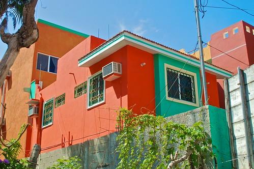 Playa del Carmen Colorful Buildings