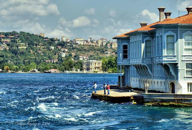 The Bosphorus...Istanbul