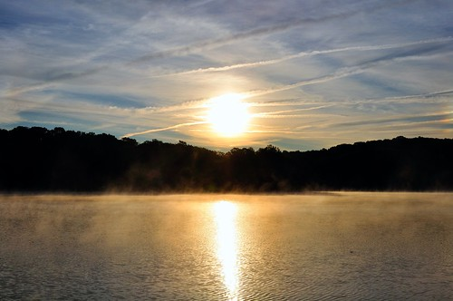 lake fog landscape d90 lakeshawnee capturenx2