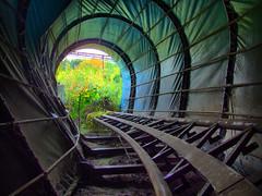 Roller coaster dead end (HDR)