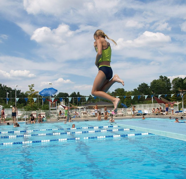 camryn @ the pool