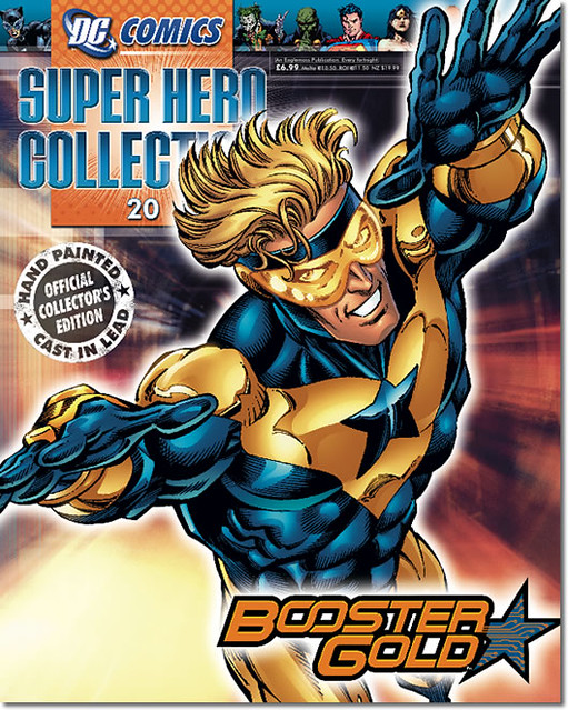 Booster Gold Eaglemoss DC Comics Superhero Figurine Collection