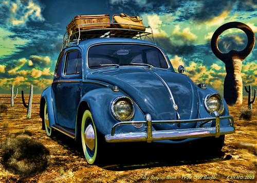 By Bug or Bust - 1958 VW Beetle