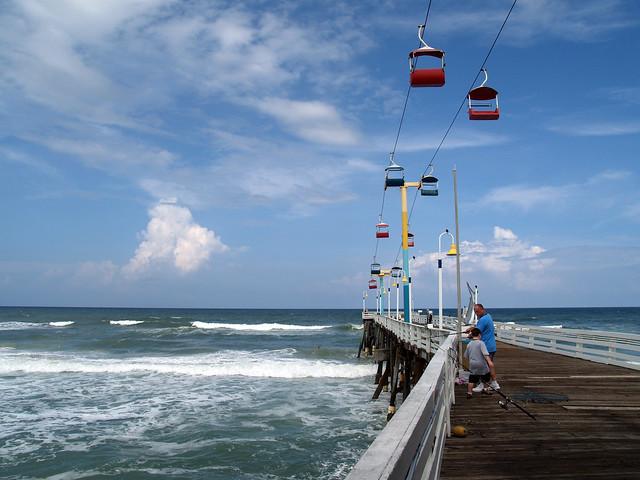 Fishing at daytona beach pier flickr photo sharing for Daytona beach fishing