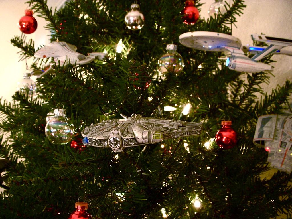 Starship Christmas Tree 5