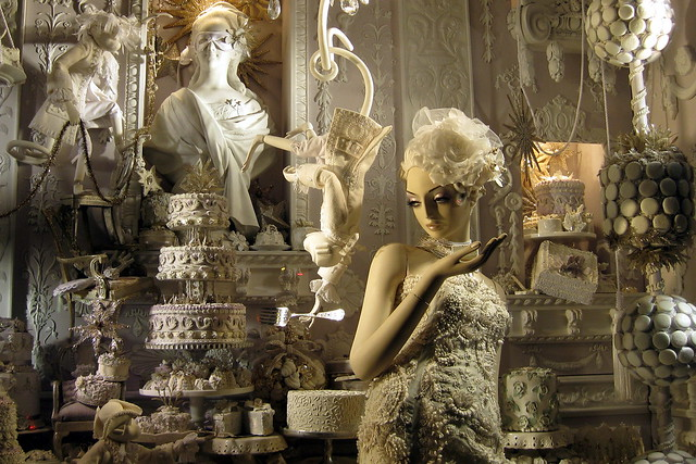 Nyc Bergdorf Goodman S 2008 Holiday Window Display Cale