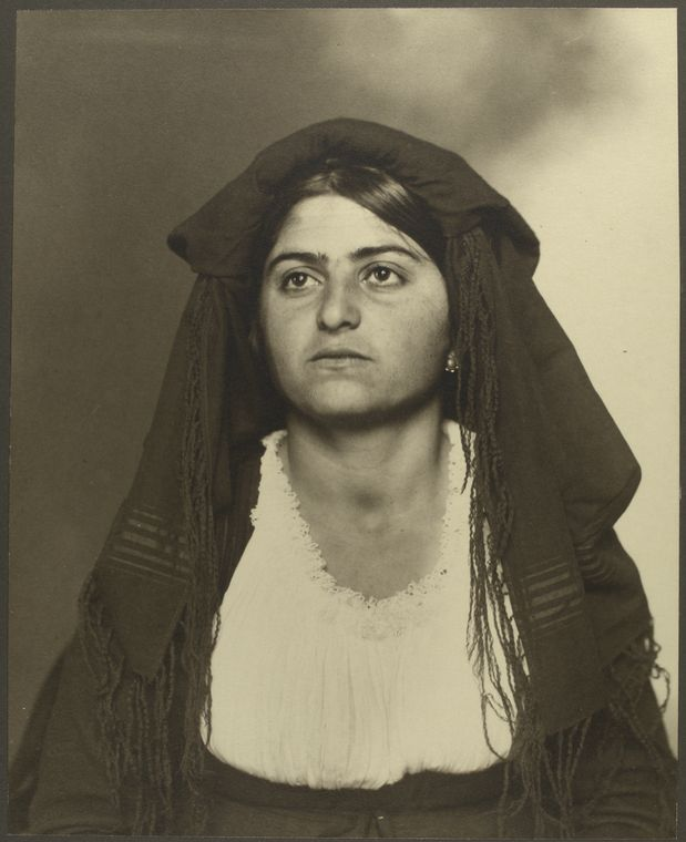 [Italian woman.]
