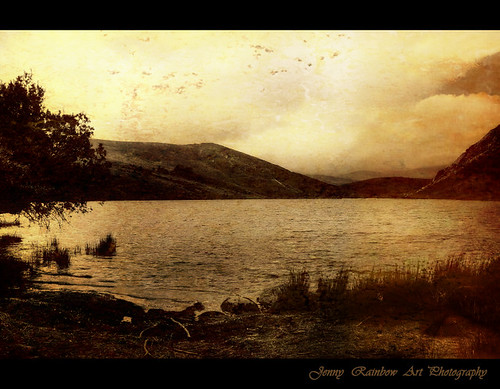 In a Magic Place in a Mystic Mood. Lough Dan, Co. Wicklow, Ireland