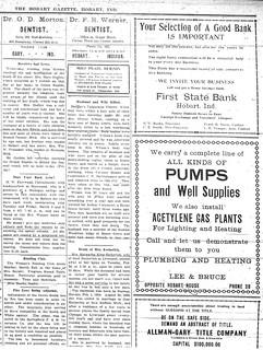 Lee Bruce ad 2-27-1914