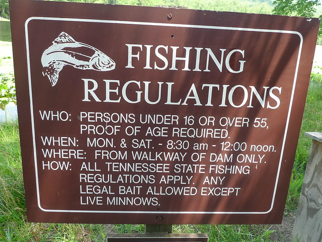 Fishing regulations flickr photo sharing for Fishing license requirements