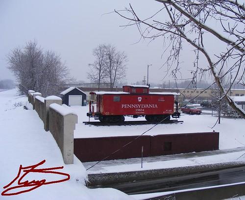railroad pennsylvania caboose