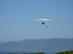 hang glider in flight 3