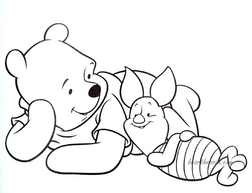 Alison gallery disney coloring pages winnie pooh for Pooh and piglet coloring pages