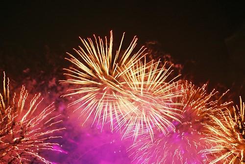 Fireworks @ London - New year 2008