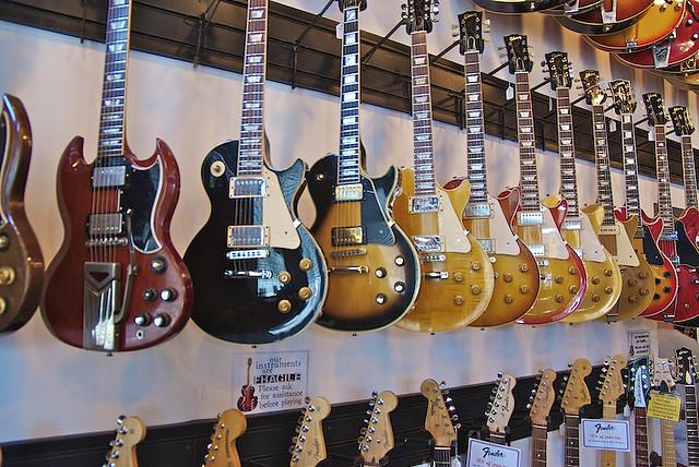 Guitar Stores