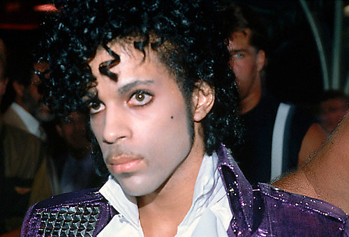 Prince at The Purple Rain Premiere