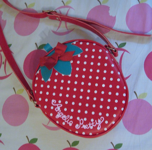 Angelic Pretty strawberry bag
