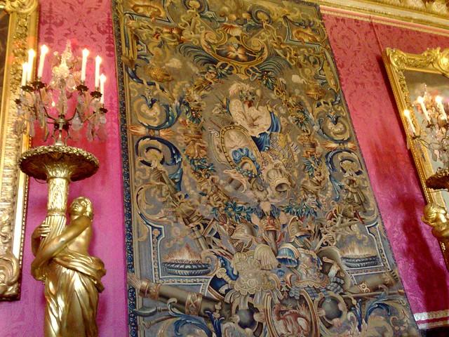 Chateau de versailles tapisserie de la salle du tr ne flickr photo shar - Salle du trone versailles ...