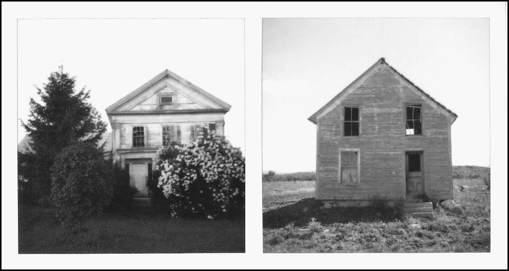 Abandoned Farmhouses, New England | Found on the backroads o