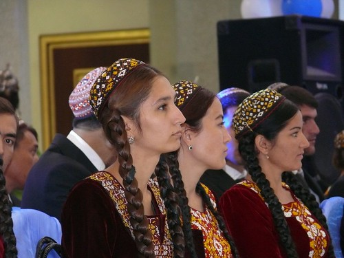 Turkmenistan Women by veni markovski