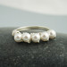 Simplicity Pearl Ring (R-SS-0079) by Starry Designs