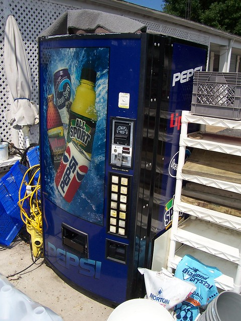 Variety Soda Vending Machine