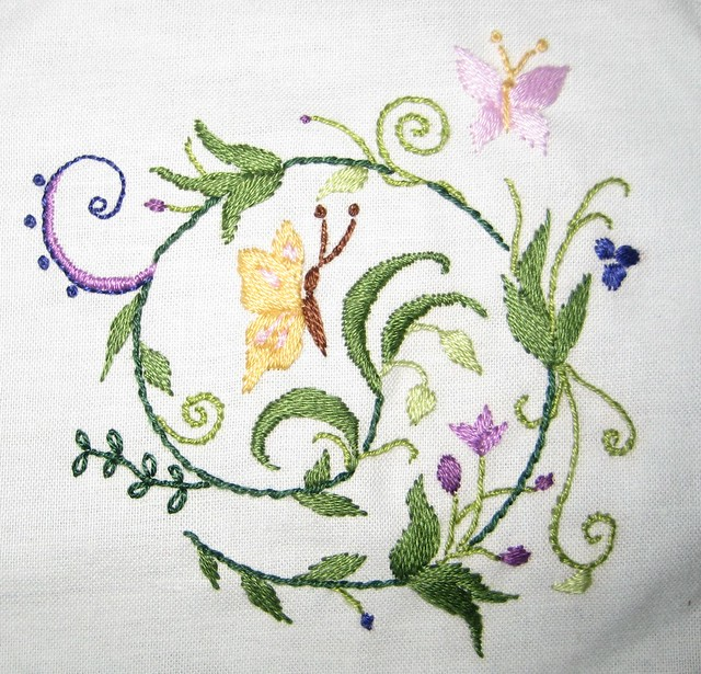 Embroidery definition meaning