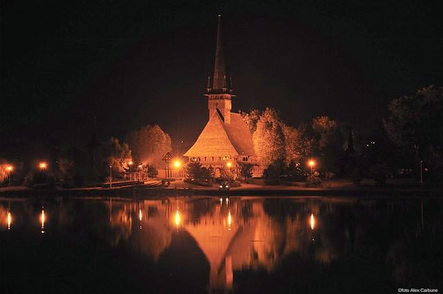 Biserica de lemn,Parcul Tabacariei,Constanta (M)