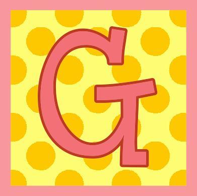 ~ Letra G • Letter G ~