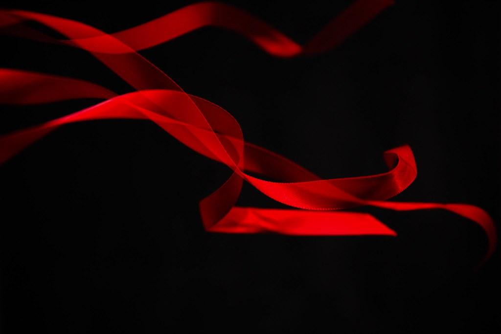 Ephemeral Red Ribbon