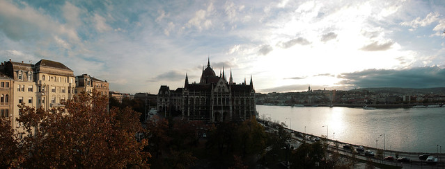 Hungarian Parlament grand panorama