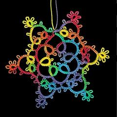 Rainbow Snowflake