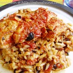 Sun-dried tomato & chicken pilaf