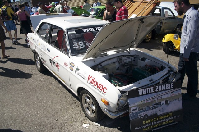 White Zombie, World's Fastest and Quickest Street Legal Electric Car