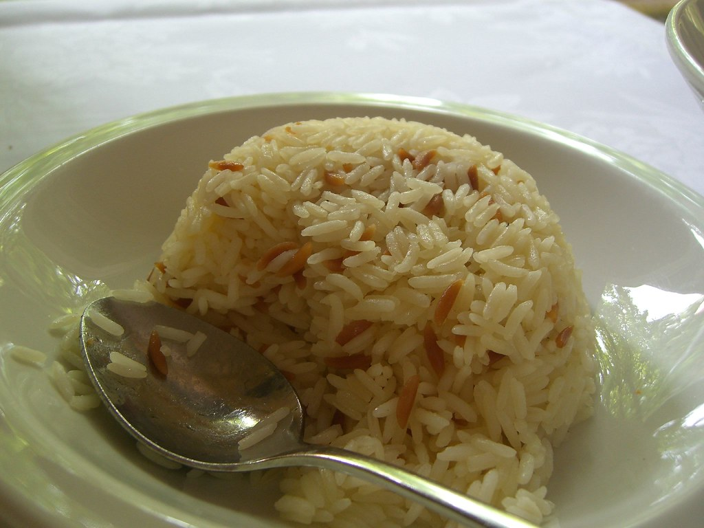 Turkish Pilaf Rice - degustation - Ottoman Cuisine