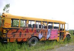 Staging Area - School Bus
