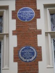 Photo of Cetshwayo blue plaque